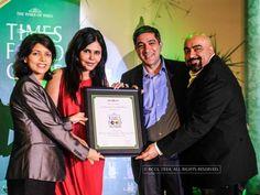 Nisha JamVwal gives the Times Food Guide Awards '14 - Mumbai : Winners
