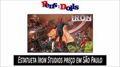 Estatueta Iron Studios preço em São Paulo - Pens and Dolls