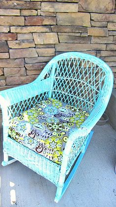 Wicker chair redo, this weekends project