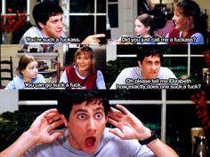 hahaha i love this scene in Donnie Darko