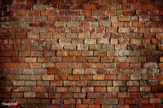 """Wall Mural """"brick wall, brick, texture - classic beautiful textured brick wall"""" ✓ Easy Installation ✓ 365 Days Money Back Guarantee ✓ Browse other patterns from this collection! Brick Pattern Wallpaper, Brick Wall Wallpaper, Brick Wall Background, Wallpaper Murals, Types Of Bricks, Red Bricks, Brick Patterns, Wall Patterns, Vintage Grunge"""