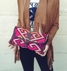 Indy kelim clutch by Marrakech Musthaves