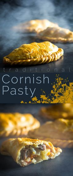 A traditional Cornish Pasty dates back to the century and is wrapped in all sorts of rumour and mystery, this version is as trad as it gets and it is unbelievable how much flavour you can get from such simple ingredients. Best Lunch Recipes, Meat Recipes For Dinner, Favorite Recipes, Snack Recipes, English Food, English Dishes, English Recipes, British Recipes