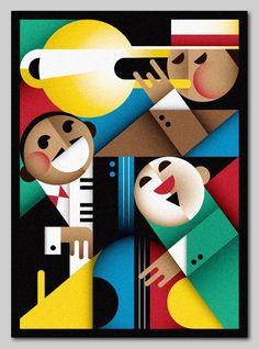 Jazz by Szoki , via Behance