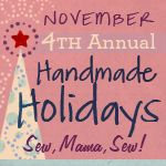 WOW - what a list!  Handmade gift ideas for every person you know plus links to decorating ideas and links to 3 previous year's lists.  Awesome.