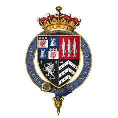Coat of arms of 1st Earl of Bedford (John Russell)