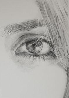"Saatchi Online Artist: james baldwin; Pencil, 2010, Drawing ""Suzanne"""