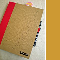 SMASH book...got this (in red)for my husband and I to write and share thoughts during this deployment <3