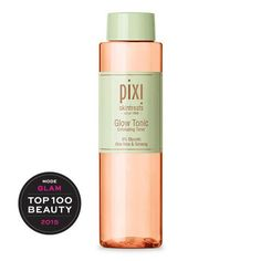 The Pixi glow tonic is highly concentrated, invigorating facial toner that deeply cleans pores by sweeping away excess oil and impurities