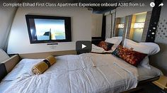 Complete Etihad First Class Apartment Experience onboard A380 from London to Abu Dhabi - Fun Sites