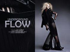 """Sonia Świeżawska: """"Underground flow"""" http://www.confashionmag.pl/webitorial/underground-flow.html"""