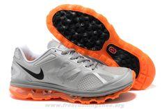 Buy Nike Air Max 2012 Mens Metallic Silver Black Total Orange 48 Nike Air  Max 2012 f66b3bee4b1