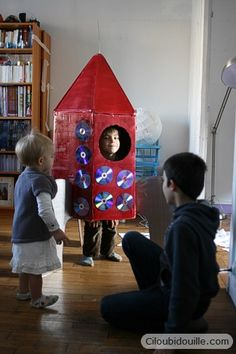 Ciloubidouille » Fabriquer une fusée Invitation, Creations, 1, Bird, Birthday, Outdoor Decor, Crafts, Astronauts, Bricolage