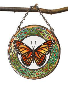 Celtic Butterfly Suncatcher
