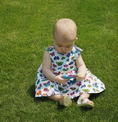 Reversible Sundress & Bloomers Pattern ~ from ConnectingThreads.com