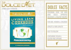 The Dolce Diet: Living Lean Cookbook - do you and your fam a favor and get it!