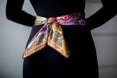 Hermes Cavaliers du Caucase worn as a belt.