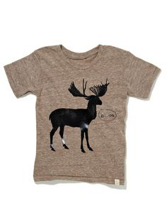 Brown Moose Graphic Tee by Atsuo et Akiko, on sale now on #gilt. #fashion #style #kids