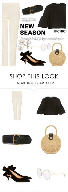 """""""New Season NOW!"""" by ifchic ❤ liked on Polyvore featuring TIBI, Rachel Comey, Kayu, Ganni and contemporary"""