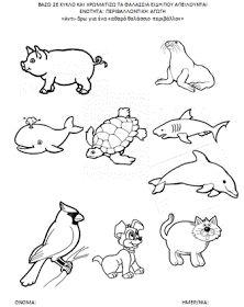Πάω στο 1o Νηπι@γωγείο Νέας Φώκαιας: ΦΥΛΛΑ ΕΡΓΑΣΙΑΣ ΓΙΑ ΤΑ ΘΑΛΑΣΣΙΑ ΕΙΔΗ ΥΠΟ ΕΞΑΦΑΝΙΣΗ Snoopy, Blog, Animals, Fictional Characters, Tattoos, Animales, Tatuajes, Animaux, Tattoo