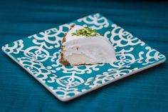 Coconut Key Lime Cheesecake