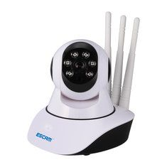 Escam QF503 960P Three Antenna Wireless IP Camera Night Vision IR Security Support 433MHz Alarm