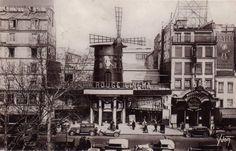 Vintage Moulin Rouge Paris   Publicado por Hijos de los Sueños en 9:05