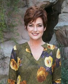 In this photo gallery, I show off gorgeous short hairstyles for women over 50 including bobs, the pixie, edgy cuts, shags and much more.: Different Versions of a Pixie Haircuts For Round Face Shape, Hair For Round Face Shape, Layered Haircuts For Women, Short Hair Styles For Round Faces, Best Short Haircuts, Hairstyles For Round Faces, Short Hair Cuts For Women, Pixie Hairstyles, Short Hairstyles For Women