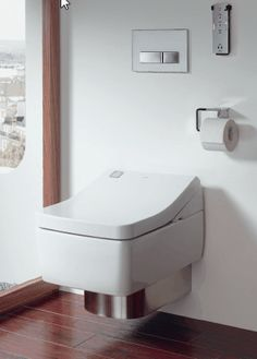 This Toto Washlet SG - uses the Toto antibacterial electrolysed ewater+ system to prevent waste from accumulating. Washlet seat Size (WxDxH in mm): 390 x 575 x This is a genuine TOTO product and will have a 2 year TOTO warranty. Kohler Toilet, Flush Toilet, Toilet Bowl, Modern Bathroom Decor, Bathroom Interior, Bathroom Ideas, Bathroom Remodeling, Remodeling Ideas, Bidet