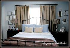 Naptime decorator - Bed under window decorating ideas - Naptime ...