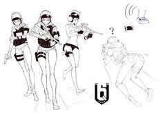 Rainbow six siege , cao xiaojv Iq Rainbow Six Siege, Rainbow 6 Seige, Tom Clancy's Rainbow Six, Rainbow Art, R6 Wallpaper, Military Drawings, Furry Girls, Manga, Female Art