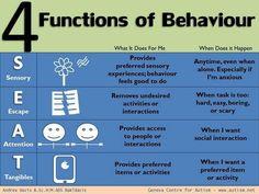 4 functions of behavior