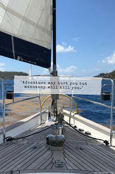 why we sail Boating Quotes, Sailing Quotes, Sailing Yachts For Sale, Us Sailing, Sailing Videos, Come Back Quotes, Sailboat Living, Sailing Holidays, Yacht Interior