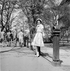 Miss Suomi Pirkko Mannola, Martti Brandt. Helsinki, 1958. Suomen valokuvataiteen museo/ Uuden Suomen kokoelma.