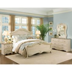 Rococo Panel Bedroom Set Standard Furniture in Bedroom Sets. The Rococo Bedroom Collection by Standard Furniture encompasses timeless elegance through the combination of rich colors, and intricate designs. Ornate carvings adorn each piece of this collection. Rich faux marble stone tops on the case pieces present attractive, easy-to-clean surfaces. Beautiful rich color gives the look and feel of elegance.