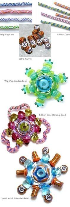 Making Mandala Beads - E-book by Sarah Hornik. $24.00, via Etsy.
