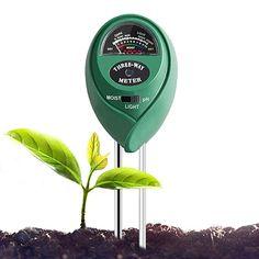 with Bonus Garden Plant Tags ✶ Suitable for Houseplants Zeemplify Premium 3-in-1 Soil Tester Meter Trees Succulents Bonsais Grass and Lawn Moisture, pH /& Light Outdoor Plants