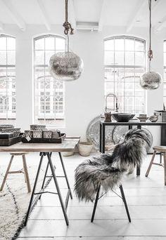 Comedor escandinavo #ideasdecoración #comedor #decoración  #nórdica  #escandinavo
