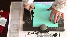 """How to make any size gift card box using the 1 1/4"""" + 1/8"""" + 1"""" formula on the Envelope Punch Board."""
