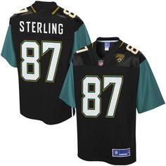 Neal Sterling Jacksonville Jaguars NFL Pro Line Player Jersey - Black