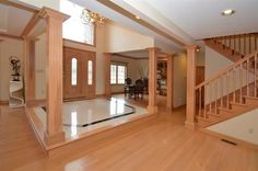 Foyer and Wood.