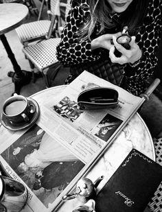 beauty, news and coffee