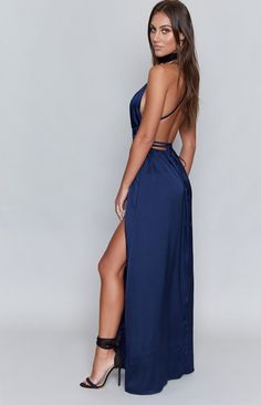 Pandora Maxi Dress Midnight