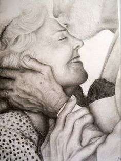 Finally drew an old couple :)