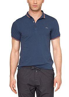 s.Oliver Herren Poloshirt 13.504.35.2408, Gr. X-Large, Blau (fade marina 5741)