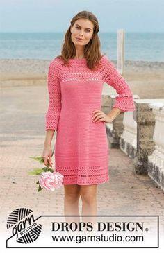 New Crochet Sweater Dress Pattern Drops Design Ideas Crochet Bodycon Dresses, Black Crochet Dress, Crochet Jacket, Knit Dress, Pull Crochet, Crochet Top, Motif Bikini, Magazine Drops, Crochet Woman