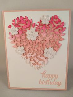 Image result for bloomin hearts stampin up