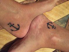 Sister anchor tattoo