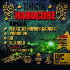 Noche HardCore http://crestametalica.com/events/noche-hardcore/ vía @crestametalica