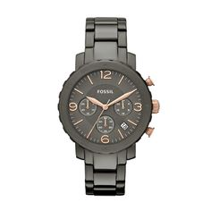 Fossil Natalie Stainless Steel Watch - Smoke